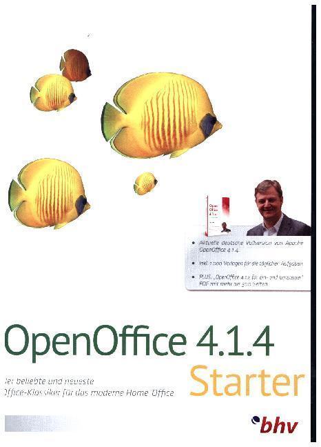 OpenOffice 18 Starter, 1 DVD-ROM