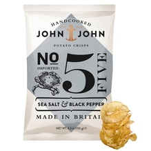 John + John Sea Salt + Black Pepper