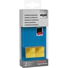 Sigel Magnet SuperDym C20  GL721 20x20x20mm go 2 St./Pack.