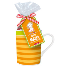 Tasse 'Beste Mama' mit Fruchtgummibären