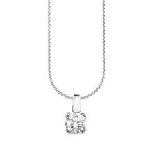S. Oliver 925/- Silber Veneziakette mit Cubic Zirkonia, 487443