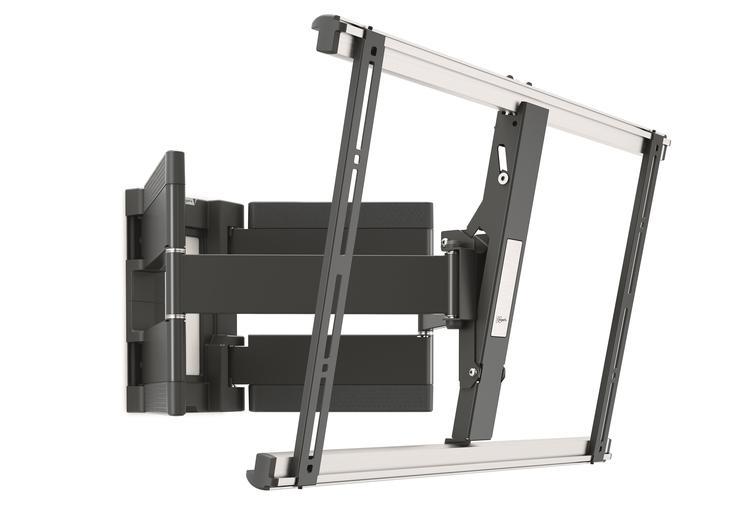 Schwenkbare XL-TV-Wandhalterung THIN 550, schwarz