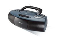 Boombox RRCD 1400 grau/schwarz