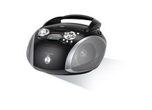 Kofferradio RCD 1445 USB, schwarz/silber