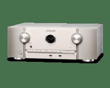7.2-Kanal Full 4K Ultra HD Netzwerk-AV-Surround-Receiver  SR-5012 silbergold