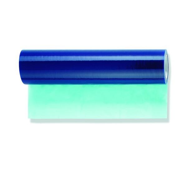 Glasschutzfolie blau selbsthaftend 100m 75cm