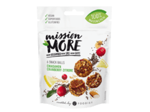 Mission More - Lemon Cranberry Chia Snack Balls