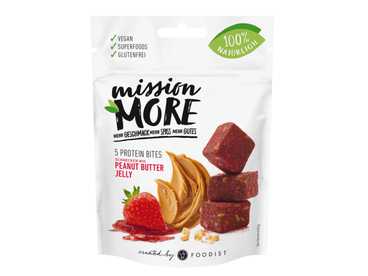 Mission More - Peanut Butter Jelly Bites