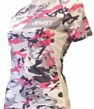 RADTRIKOT Bety Camouflage Pink - Größe: L