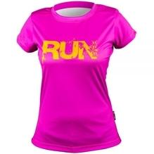 T-SHIRT Annika RUN Pink - Größe: L