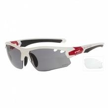R2 Sportsonnenbrille CROWN Weiß - Wechselglas