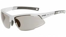 R2 Sportsonnenbrille RACER Weiß - photochrome/selbsttönend