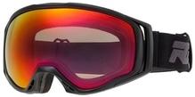 Skibrille / Snowboardbrille Relax HERO Mattschwarz