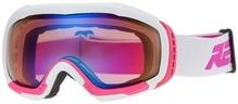 Skibrille / Snowboardbrille Relax BONDY Weiß/Pink matt