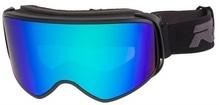 Skibrille / Snowboardbrille Relax BROAD Mattschwarz/Grün