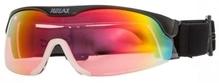 Skilanglauf Biathlon Brille Relax CROSS mit flexiblem Visier schwarz