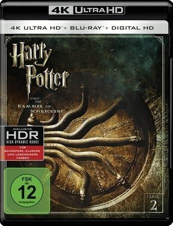 Harry Potter und die Kammer des Schreckens 4K, 1 UHD-Blu-ray