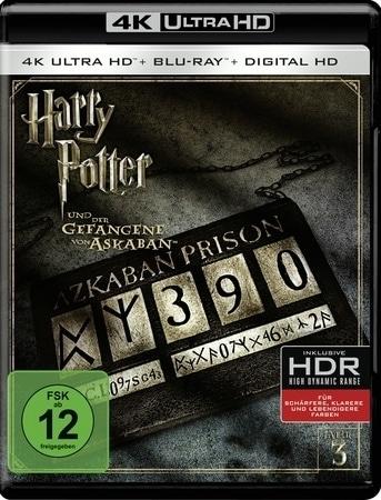 Harry Potter und der Gefangene von Askaban 4K, 1 UHD-Blu-ray