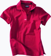 MUSTO Damen Crew-Poloshirt /rot