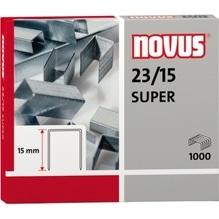 NOVUS Heftklammer 042-0044 23/15 verzinkt 1.000 St./Pack.