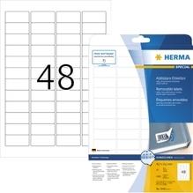 HERMA Etikett 4346 45,7x21,2mm weiß 1.200 St./Pack.
