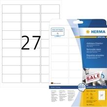 HERMA Etikett 4347 63,5x29,6mm weiß 675 St./Pack.