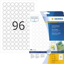 HERMA Etikett Movables 4386 20mm rund weiß 2.400 St./Pack.