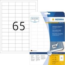 HERMA Etikett Movables 4212 38,1x21,2mm weiß 1.625 St./Pack.