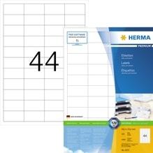 HERMA Etikett PREMIUM 4272 48,3x25,4mm weiß 4.400 St./Pack.