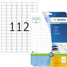 HERMA Etikett PREMIUM 4334 25,4x16,9mm weiß 2.800 St./Pack.