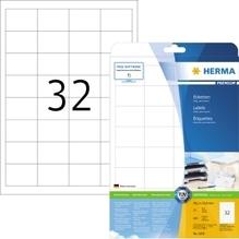 HERMA Etikett PREMIUM 4200 48,3x33,8 mm weiß 800 St./Pack.