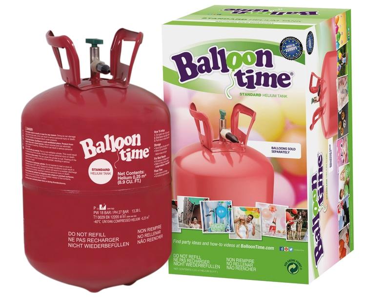 Balloontime Helium Ballongas Kit 30 ohne Ballons