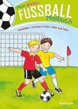 Mein großes Fußball-Malbuch
