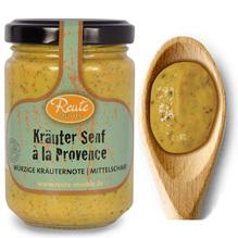 Reute Mühle 'Kräuter Senf à la Provence', Glas 140ml