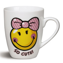 Nici Porzellan-Tasse Smileyworld 'SO CUTE' ø 8x10cm