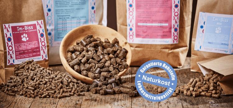 kaltgepresstes Trockenfutter getreidefrei für Hunde
