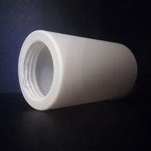 Ersatzglas mit Gewinde Lampenschirm Zylinder Glas 530