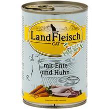 Landfleisch Cat Schlemmertopf Ente u. Huhn 12x400g