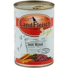 Landfleisch Cat Schlemmertopf Rind 12x400g
