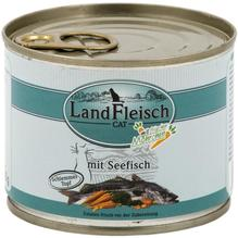 Landfleisch Cat Schlemmertopf Seefisch 195g
