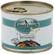 Landfleisch Cat Schlemmertopf Seefisch 12x195g