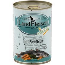 Landfleisch Cat Schlemmertopf Seefisch 12x400g