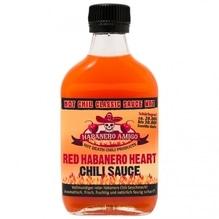 Red Habanero Heart Chili Sauce - HOT Chili Classics - Habanero Amigo