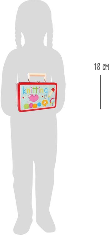 Strickset für Kinder / Strickliesel, Stricknadeln, Wolle, usw.