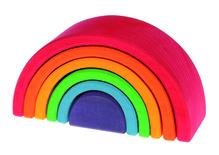 Großer Regenbogen, 12-teilig, aus Lindenholz