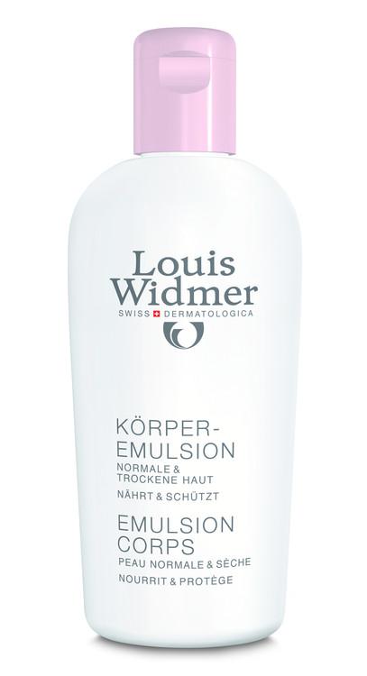 Widmer Körperemulsion leicht parfümiert 200ml