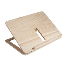 Holz- Tablet- oder Buchständer FSC 100%, 28x21x3,4cm