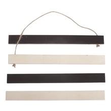 Holz-Magnethalter zum Hängen, FSCMixCred, 21x2x0,75cm, SB-Btl 1Set