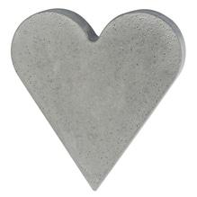Gießform: Herz, 18,5x20cm, Tiefe 4cm