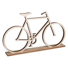 Holz-Fahrrad, zum Stellen, FSC 100%, 20x11cm, SB-Btl 1Stück